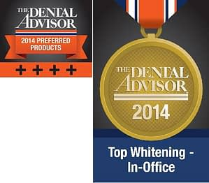 laser teeth whitening awards