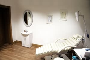 TREATMENT ROOM = TEETH WHITENING + BOTOX