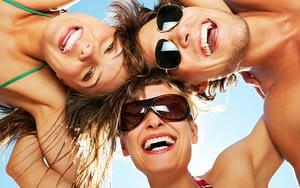 summer - teeth whitening