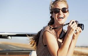 Teeth Whitening and Laser Teeth Whitening - Girl