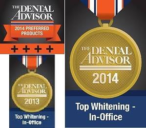 laser teeth whitening awards - beyond