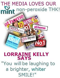 media loves our MINT non peroxide THK!