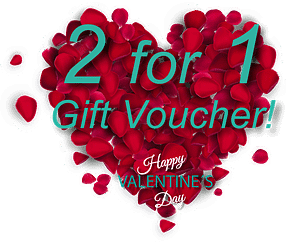 teeth whitening - gift voucher - 2 for 1